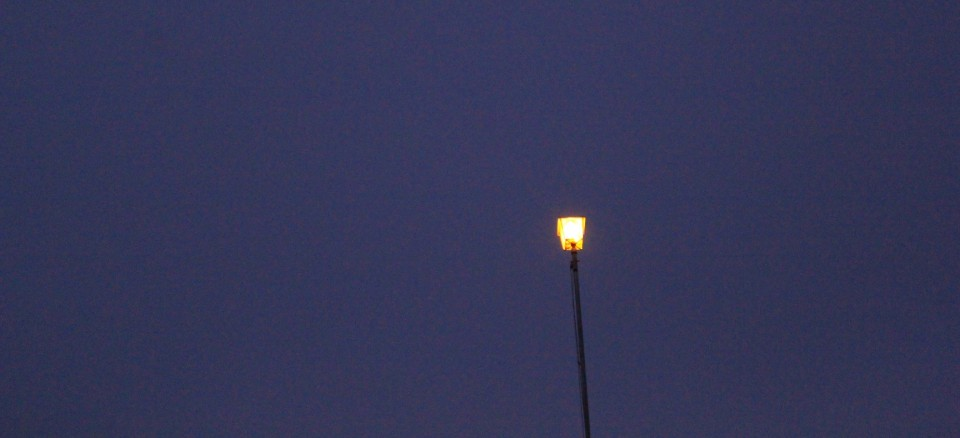 nur ein kleines Licht...