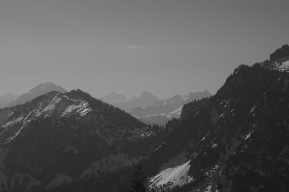 Berge - massiv
